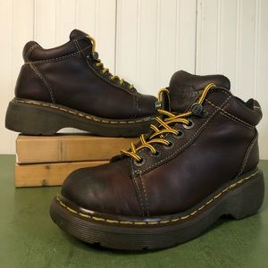 Dr Martens Chunky Sole Ankle Boots #8542